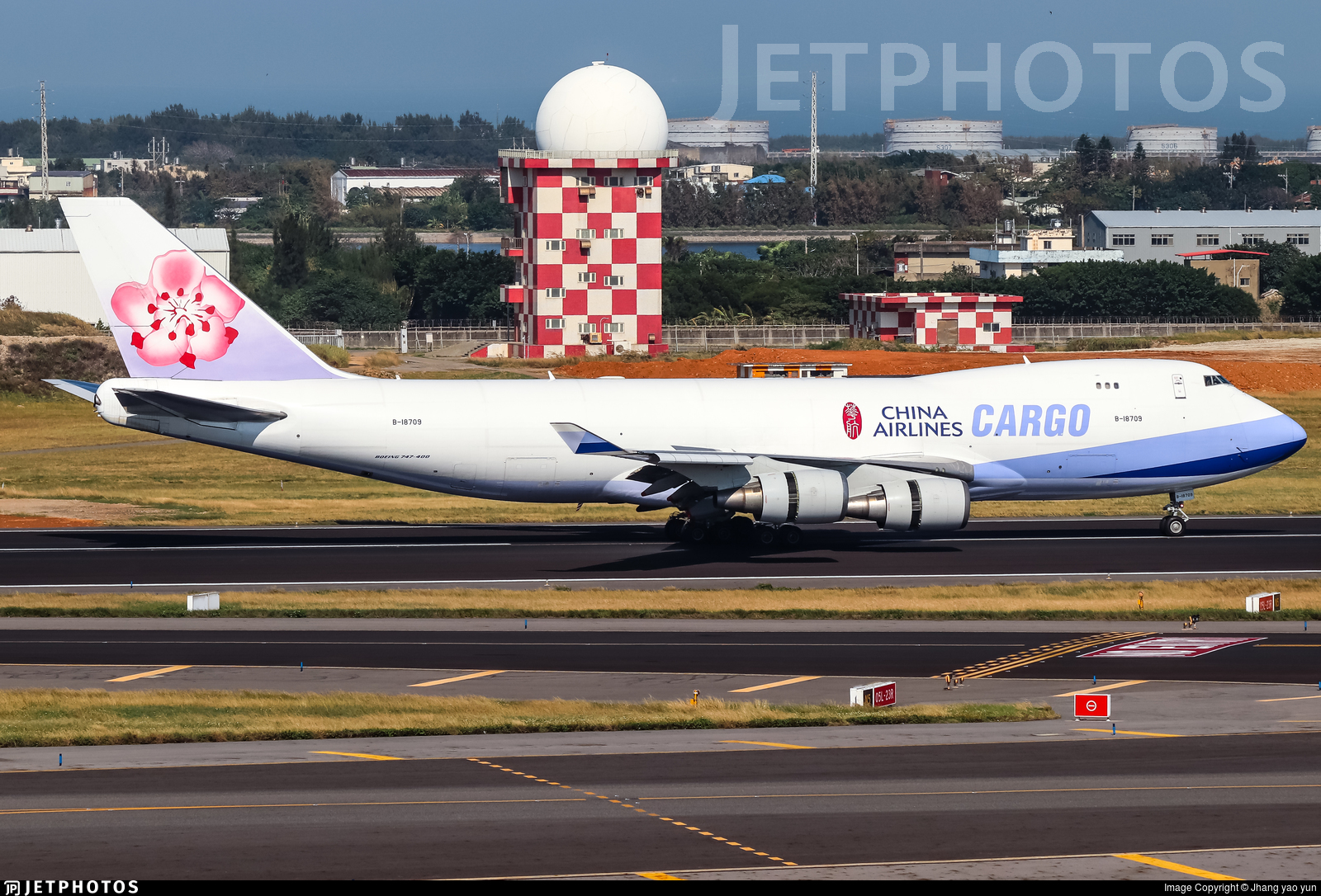 B-18709 - Boeing 747-409F(SCD) - China Airlines Cargo