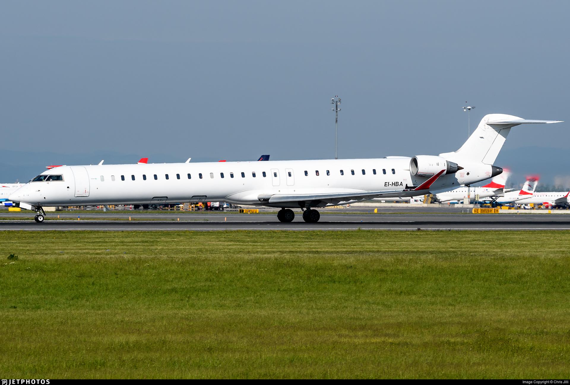 EI-HBA | Bombardier CRJ-1000 | Hibernian Airlines | Chris Jilli
