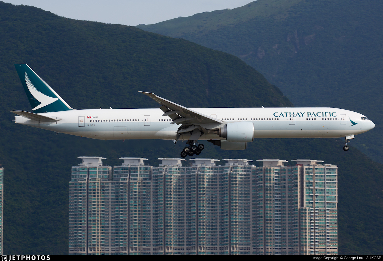 B-KPX - Boeing 777-367ER - Cathay Pacific Airways
