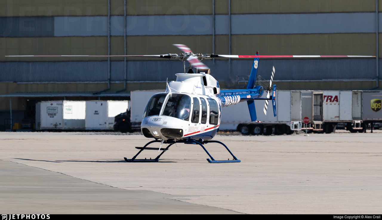 N694AM - Bell 407 - Air Mercy Services (AMS)