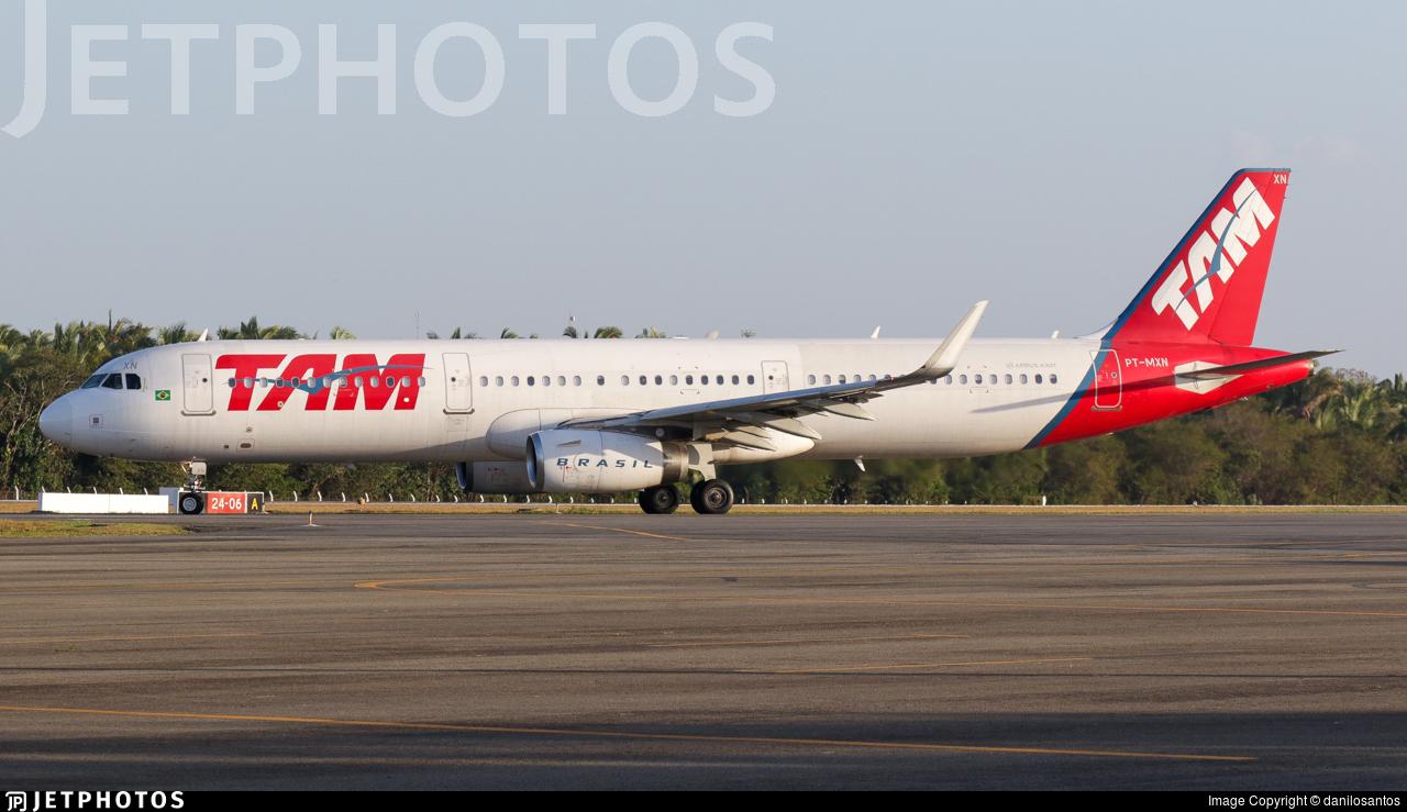 PT-MXN - Airbus A321-231 - TAM Linhas Aéreas