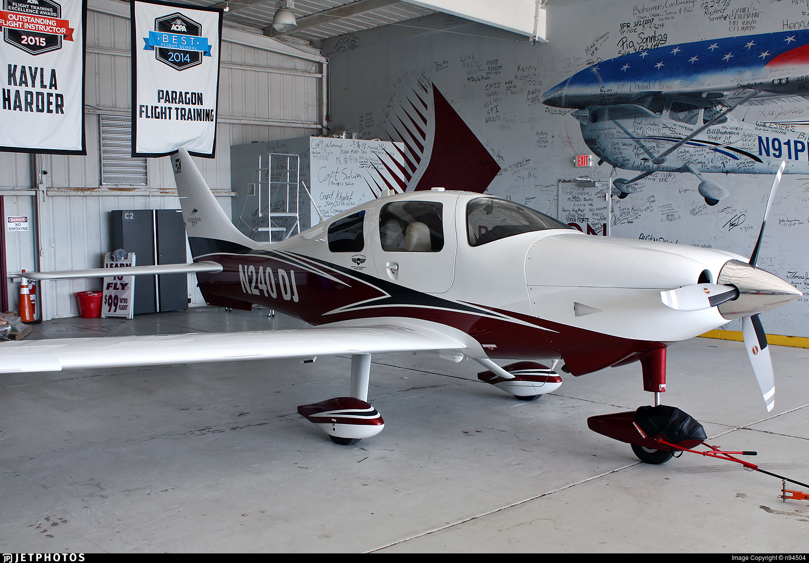 N240DJ - Cessna T240 Corvalis TTX - Private