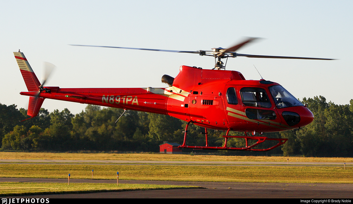 N891PA - Eurocopter AS 350B2 Ecureuil - Private
