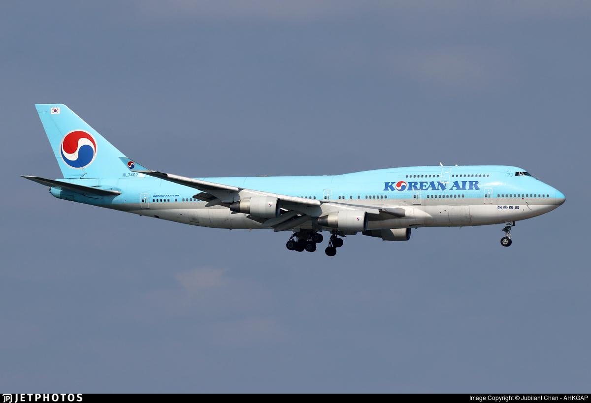HL7402 - Boeing 747-4B5 - Korean Air