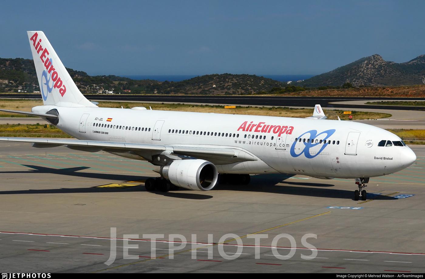 EC-JZL - Airbus A330-202 - Air Europa