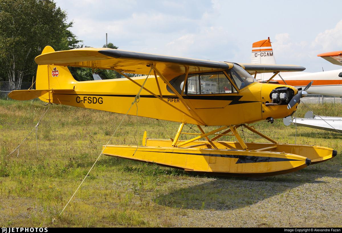 C-FSDG - Piper J-3C-65 Cub - Private