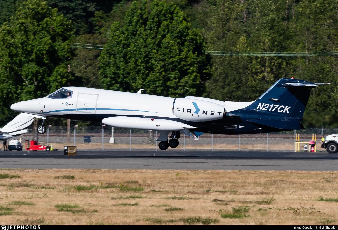 N217CK - Bombardier Learjet 35A - AirNet Systems