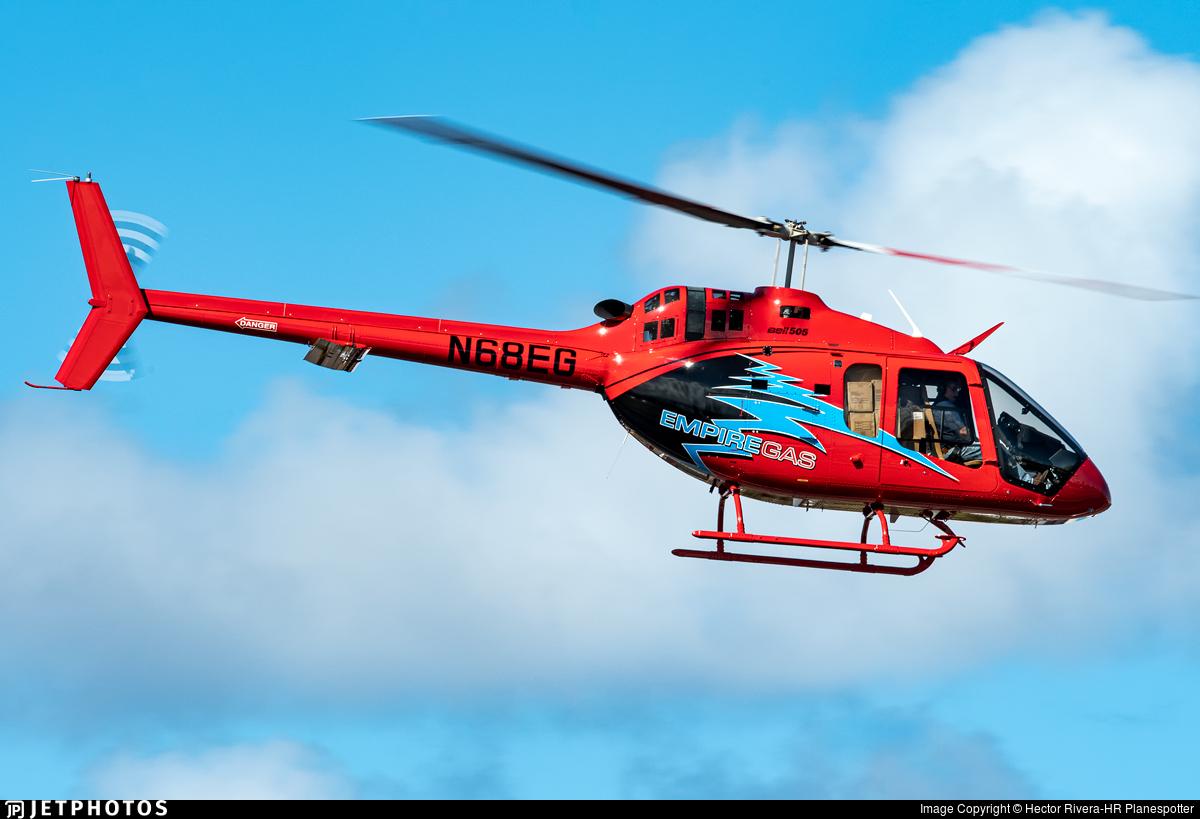 N68EG - Bell 505 - Private