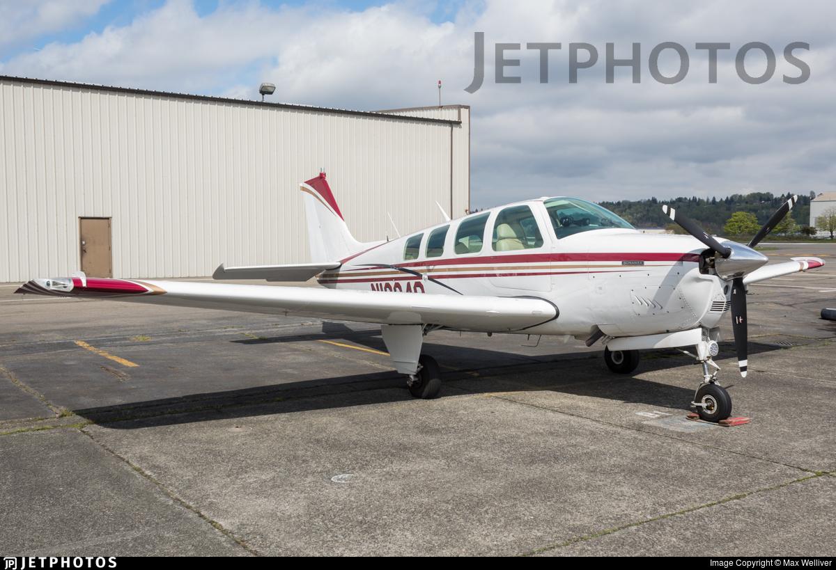 N1234Q - Beech A36 Bonanza - Private
