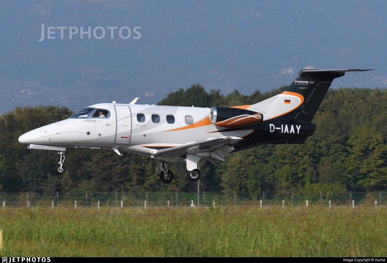 D-IAAY - Embraer 500 Phenom 100 - Arcus-Air