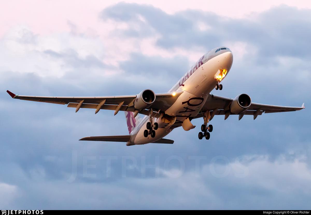 A7-ACG - Airbus A330-202 - Qatar Airways