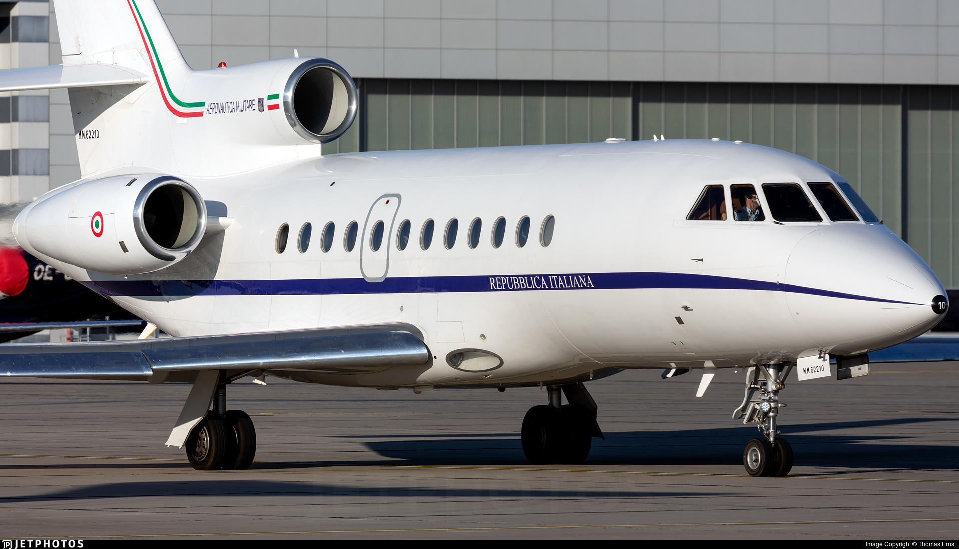 MM62210 - Dassault Falcon 900EX - Italy - Air Force