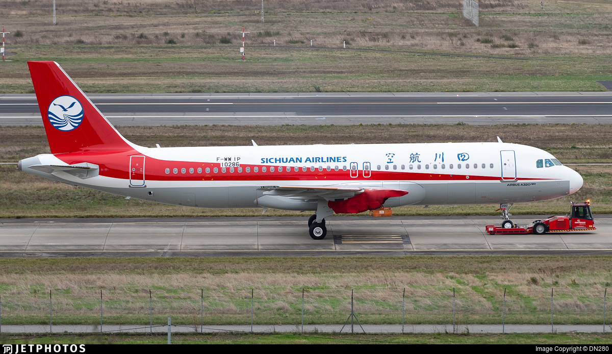 F-WWIP - Airbus A320-271N - Sichuan Airlines