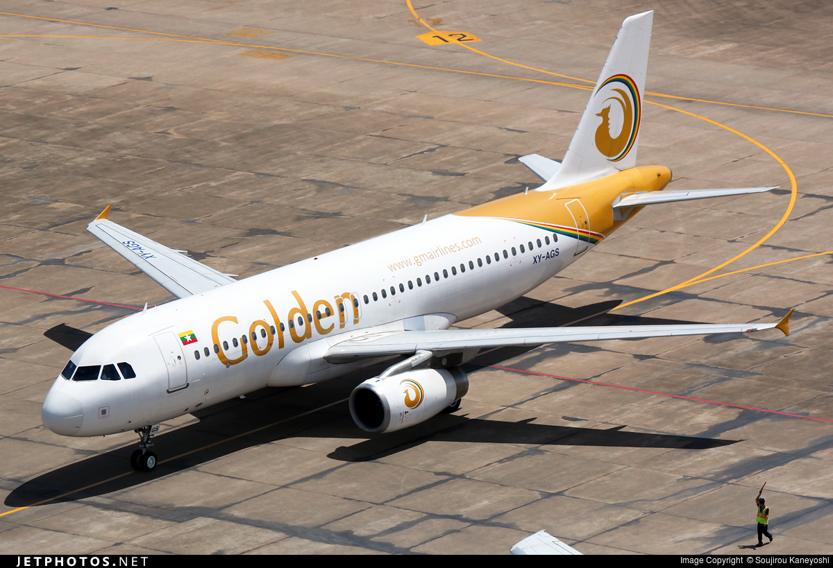 XY-AGS - Airbus A320-232 - Golden Myanmar Airlines