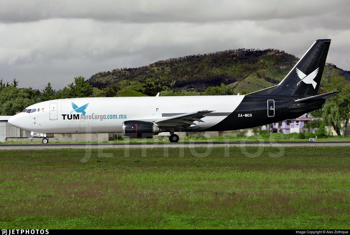 XA-MCG - Boeing 737-4Q8(SF) - TUM AeroCarga