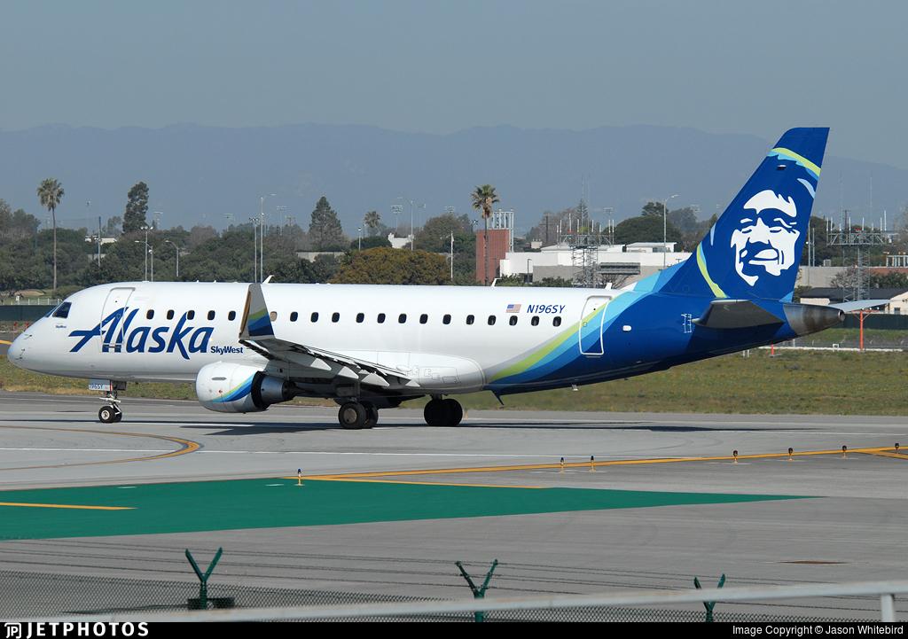 N196SY - Embraer 170-200LR - Alaska Airlines (Skywest Airlines)