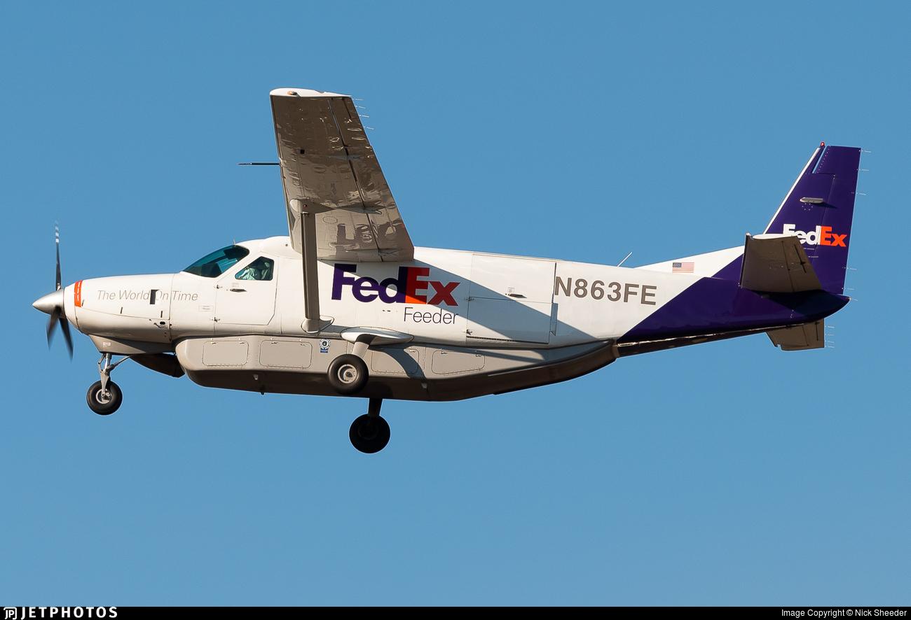 N863FE - Cessna 208B Super Cargomaster - FedEx Feeder (Empire Airlines)