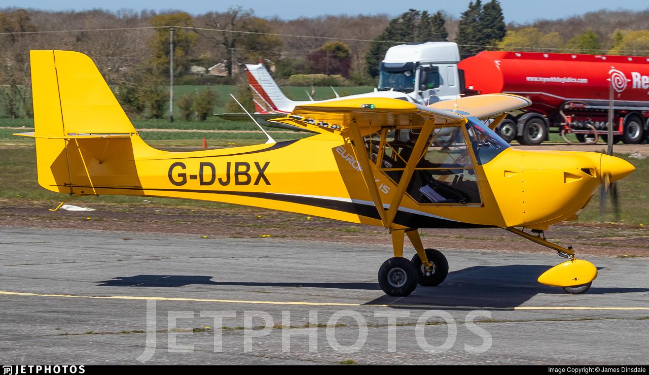 G-DJBX - Aeropro Eurofox 912(IS) - Private