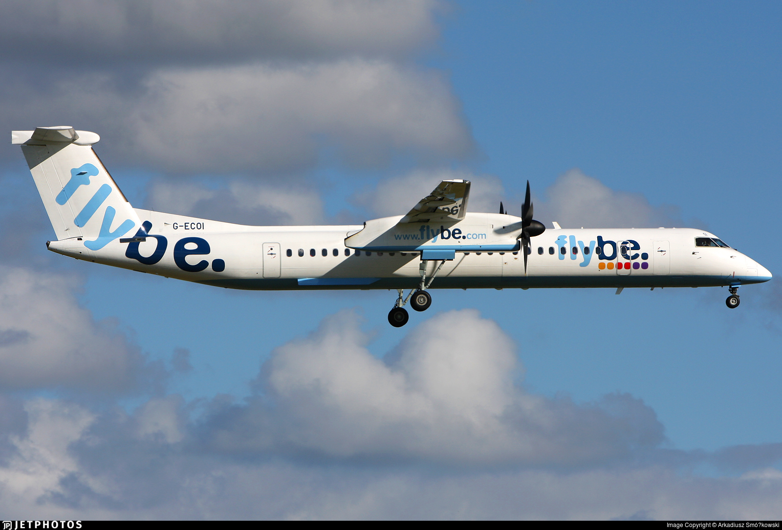 G-ECOI - Bombardier Dash 8-Q402 - Flybe