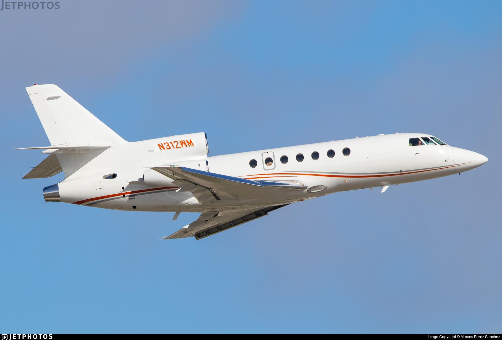 N312WM - Dassault Falcon 50 - Private