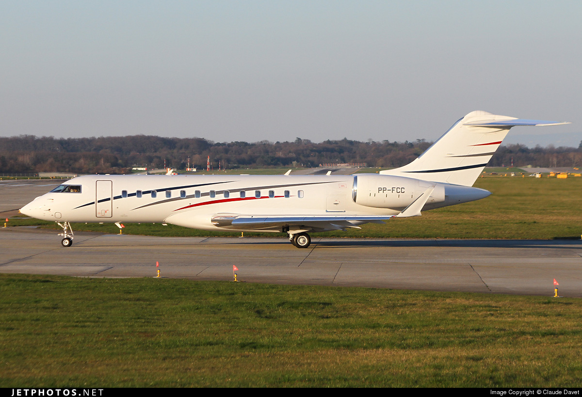 PP-FCC - Bombardier BD-700-1A10 Global 6000 - Private