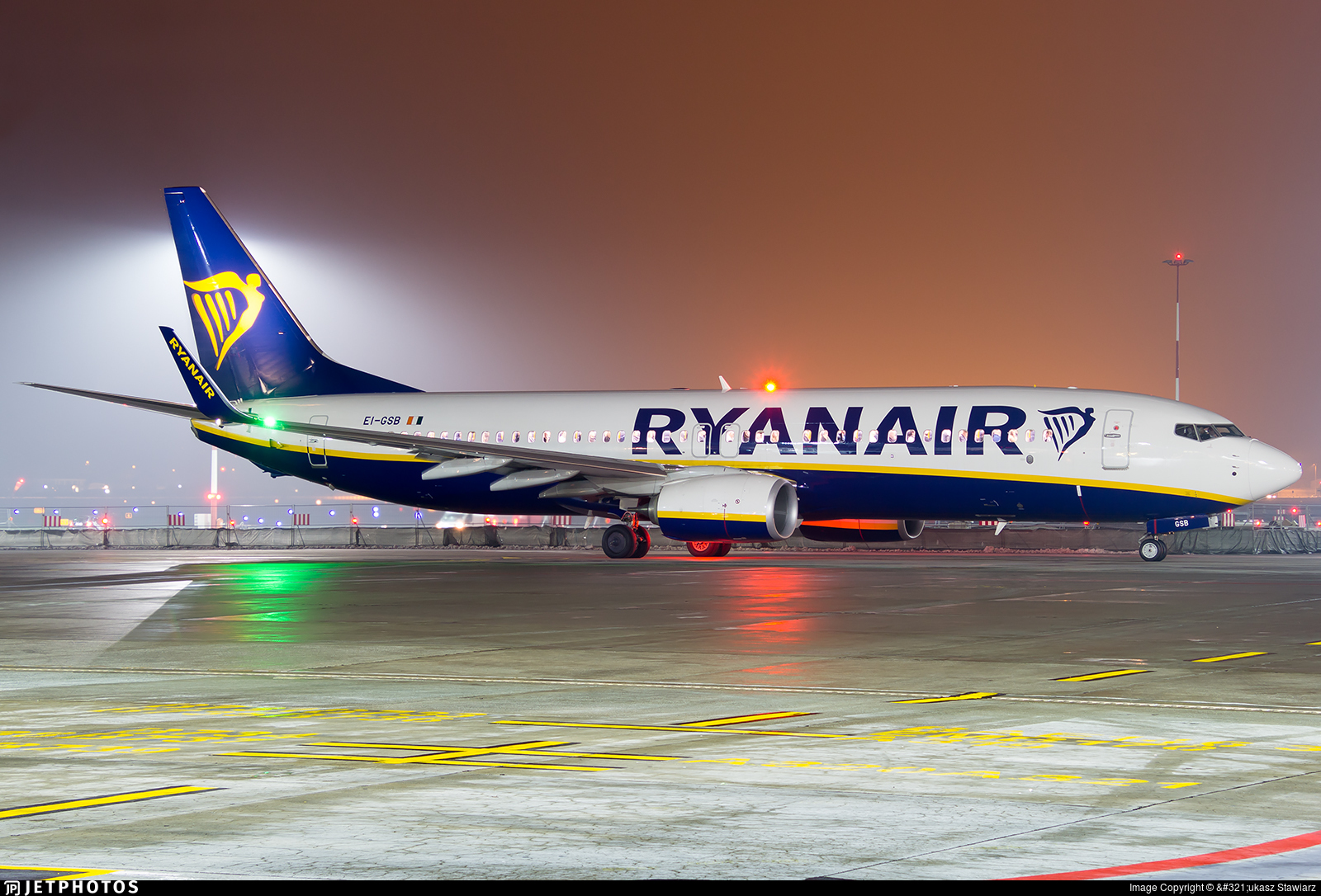 EI-GSB - Boeing 737-8AS - Ryanair