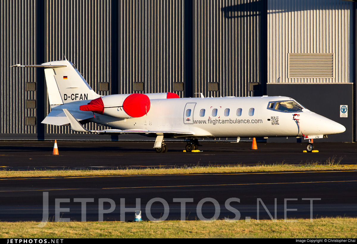 D-CFAN - Bombardier Learjet 60 - Private