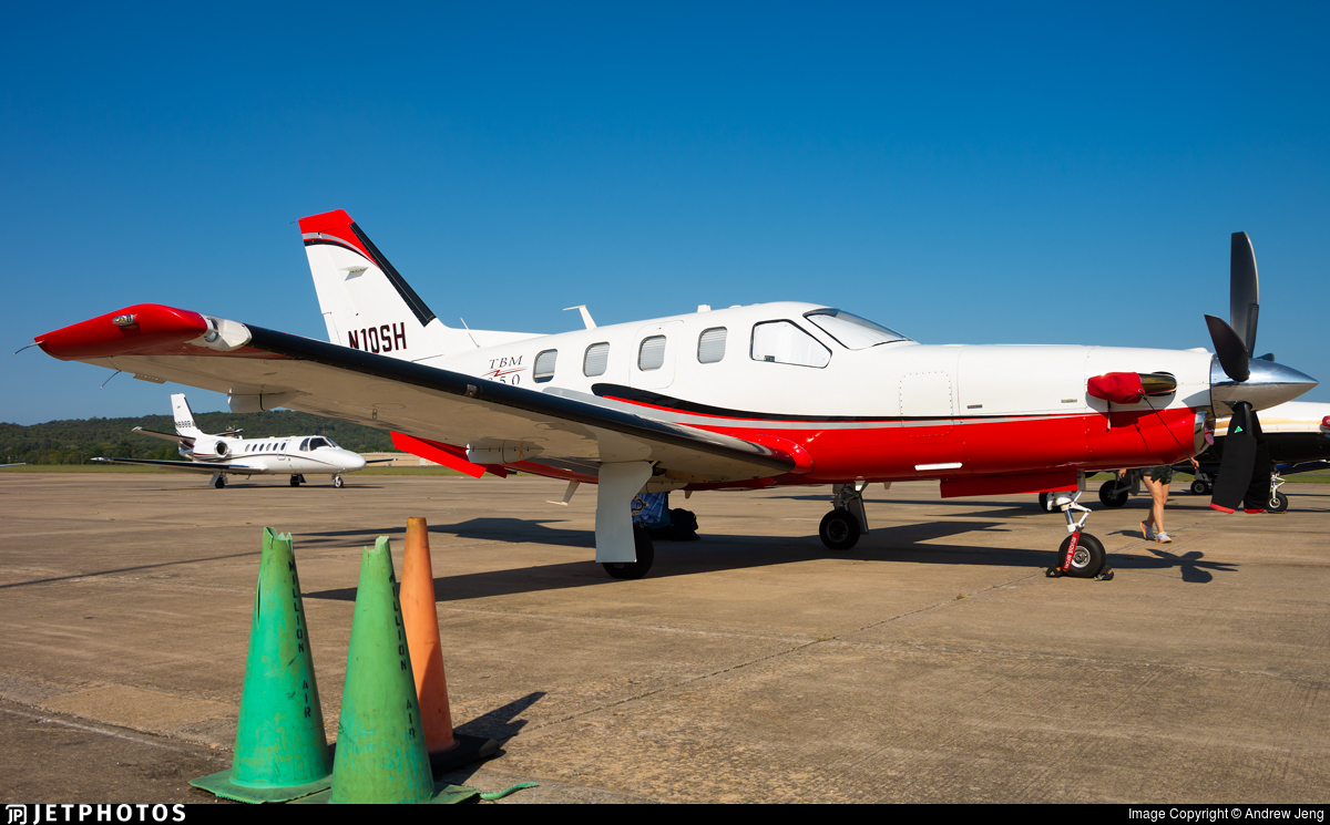 N10SH - Socata TBM-850 - Private