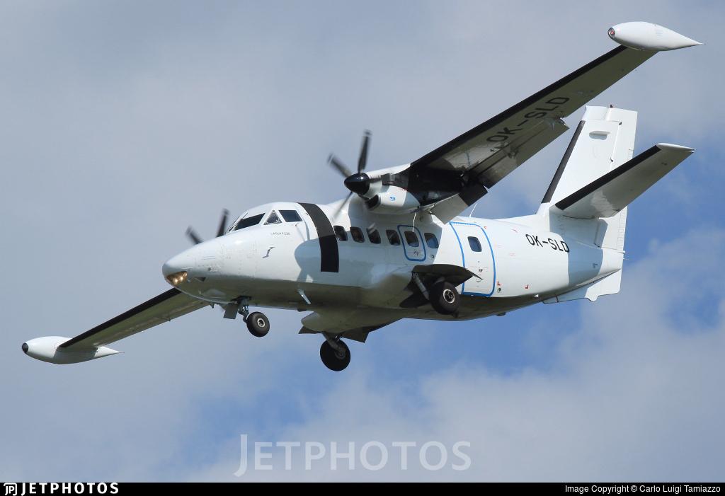 OK-SLD - Let L-410UVP-E20 Turbolet - Silver Air