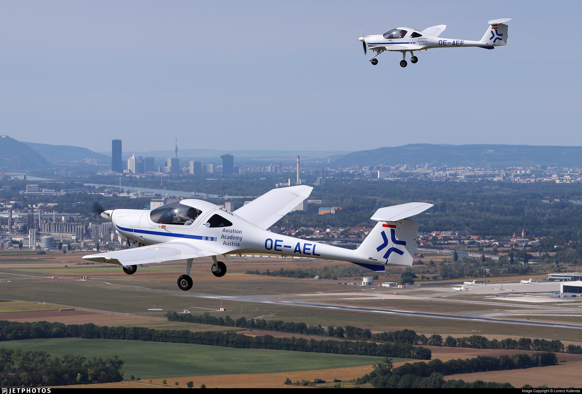 OE-AEL - Diamond Aircraft DV-20 E - Aviation Academy Austria