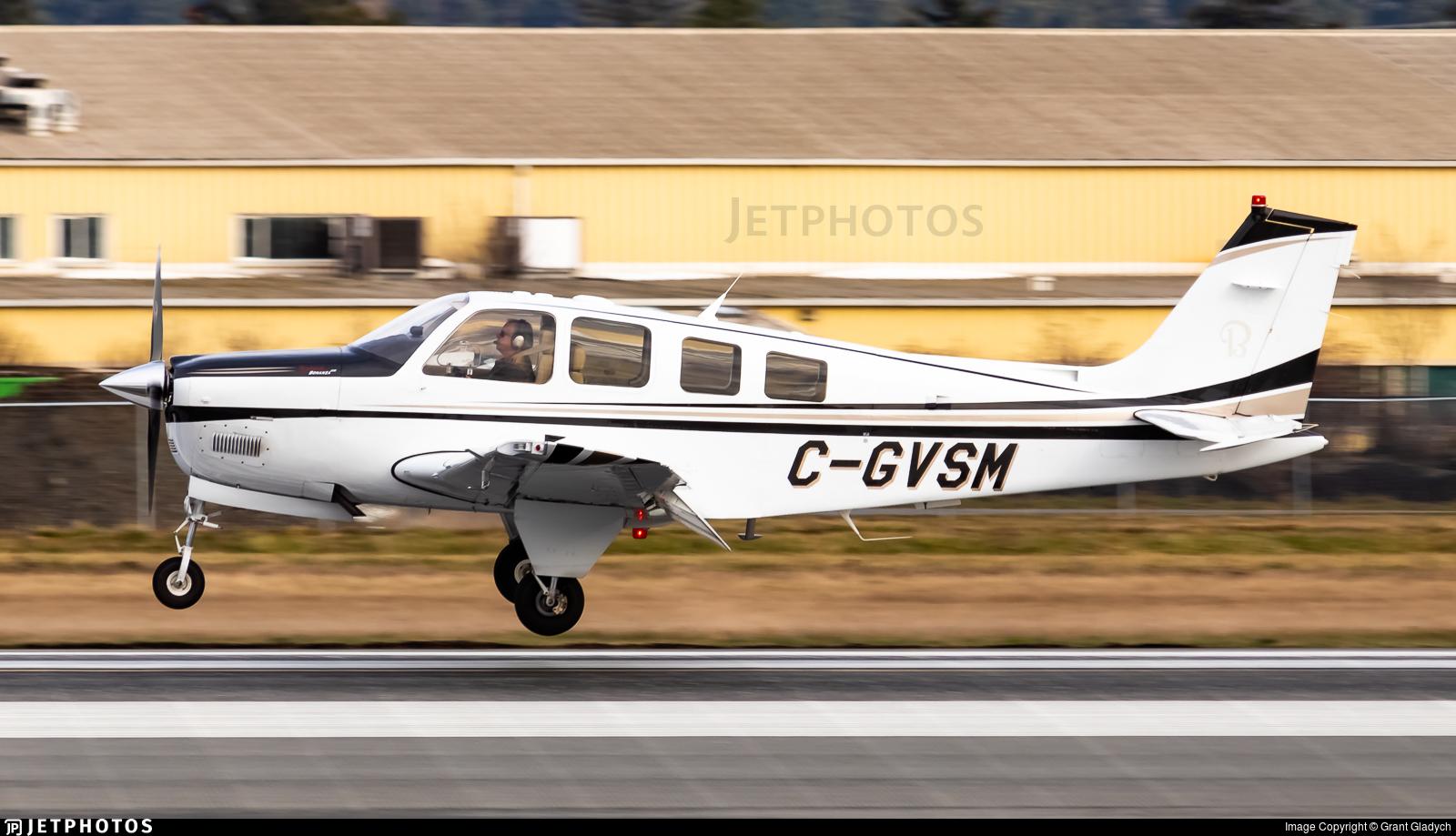 C-GVSM - Beechcraft G36 Bonanza - Private