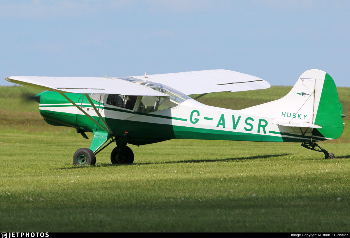 G-AVSR - Beagle D5/180 Husky - Private