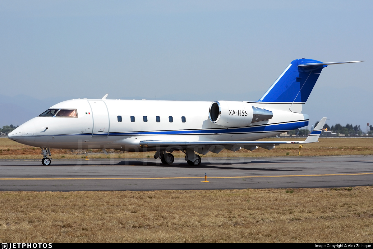 XA-HSS - Bombardier CL-600-2B16 Challenger 601-3A - Private