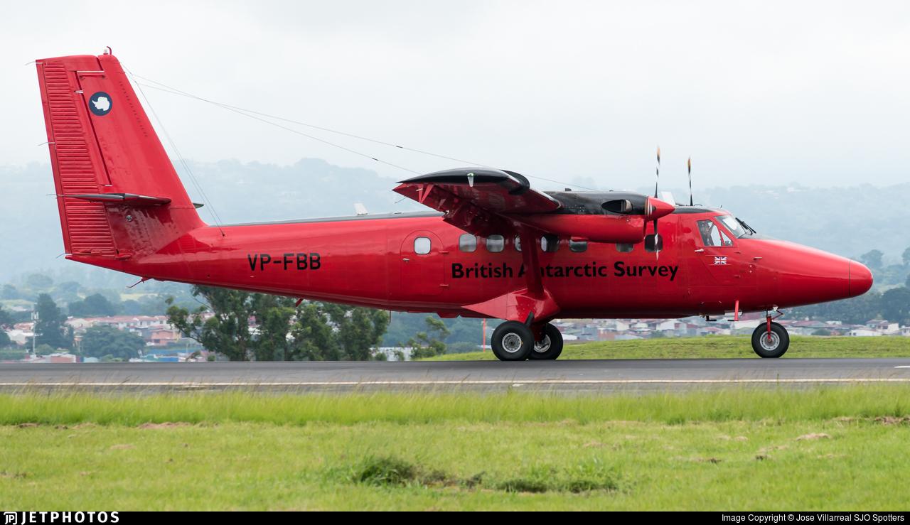 VP-FBB - De Havilland Canada DHC-6-300 Twin Otter - British Antarctic Survey