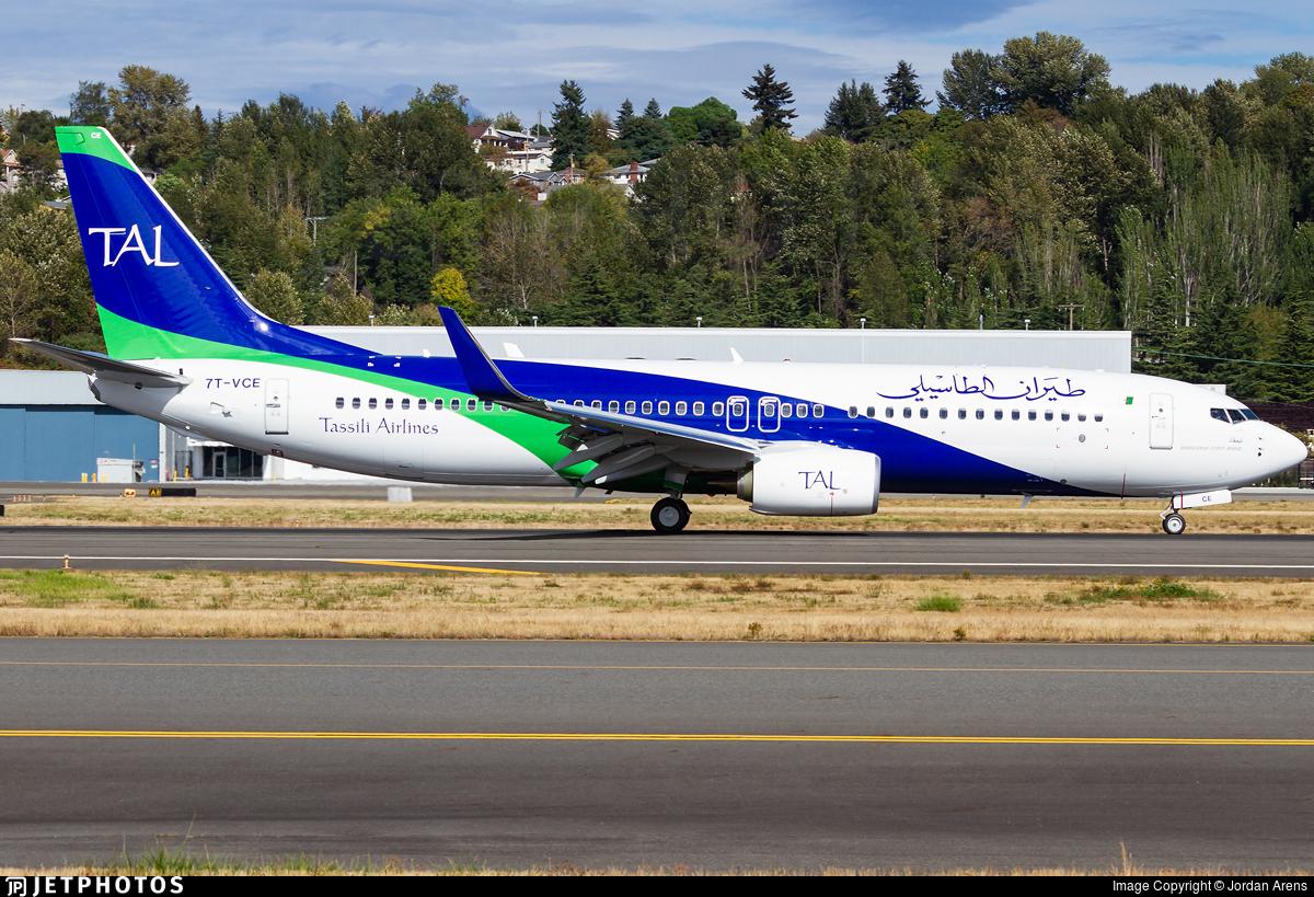 7T-VCE - Boeing 737-8ZQ - Tassili Airlines
