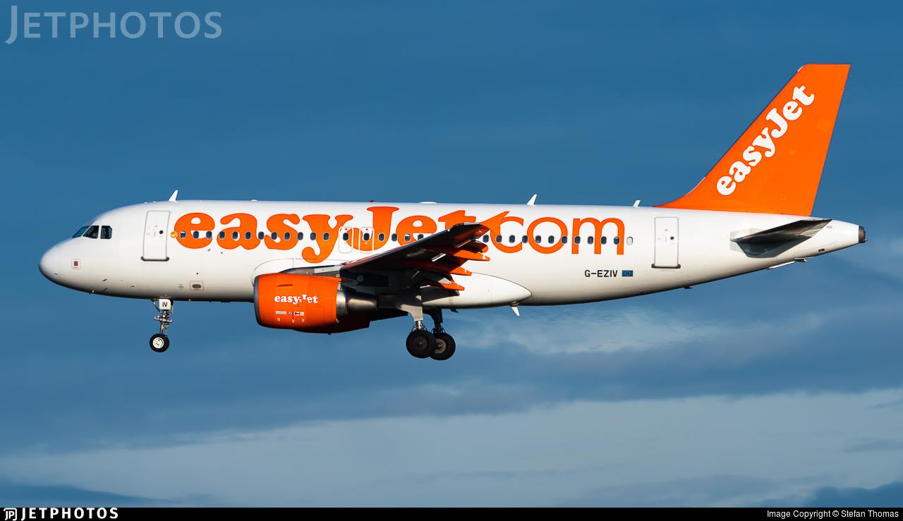 G-EZIV - Airbus A319-111 - easyJet