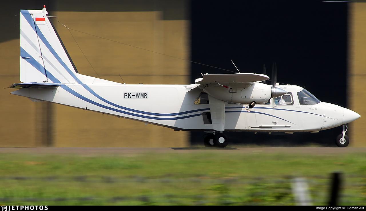 PK-WMR - Britten-Norman BN-2T Turbine Islander - Wise Air