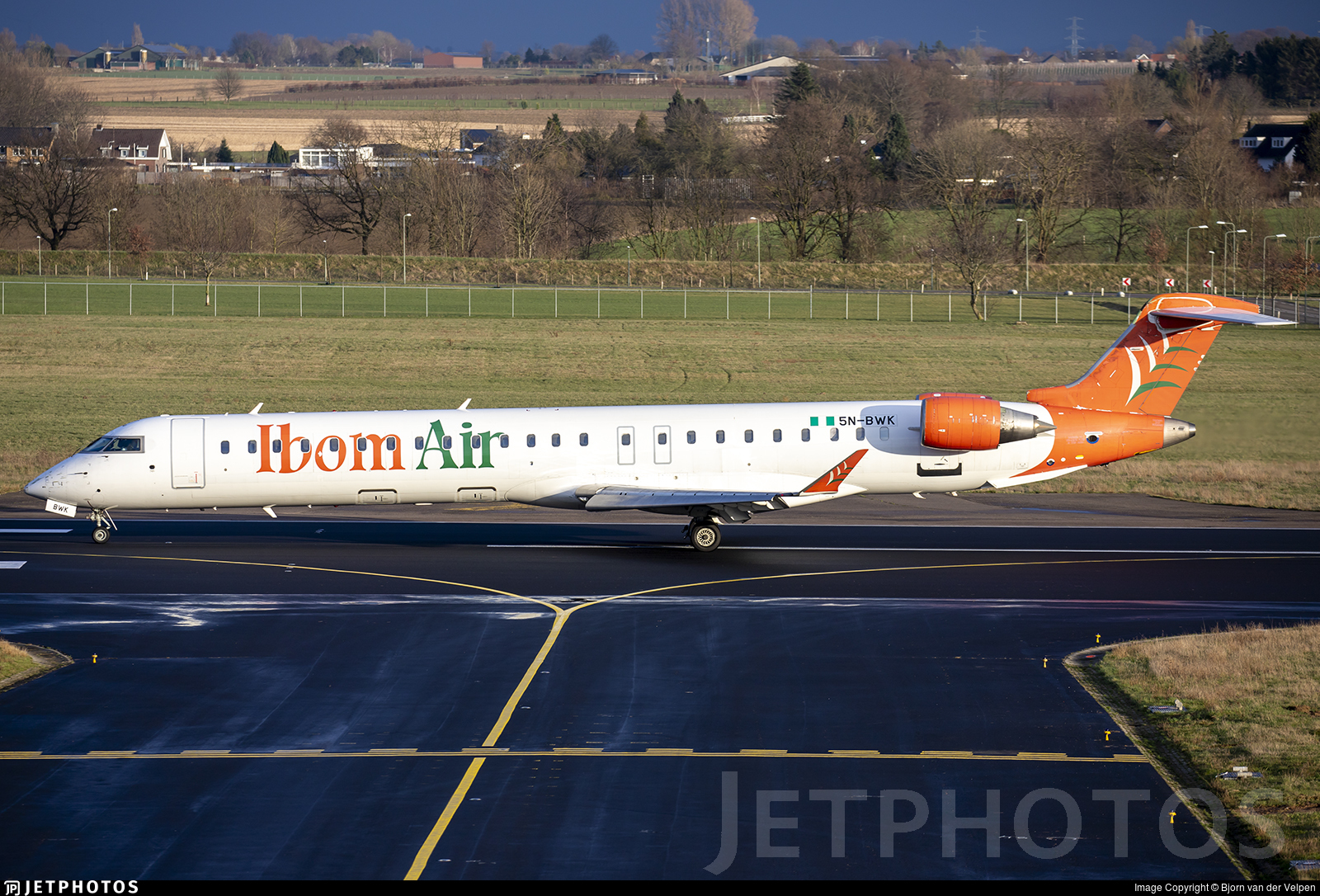 5N-BWK - Bombardier CRJ-900LR - Ibom Air