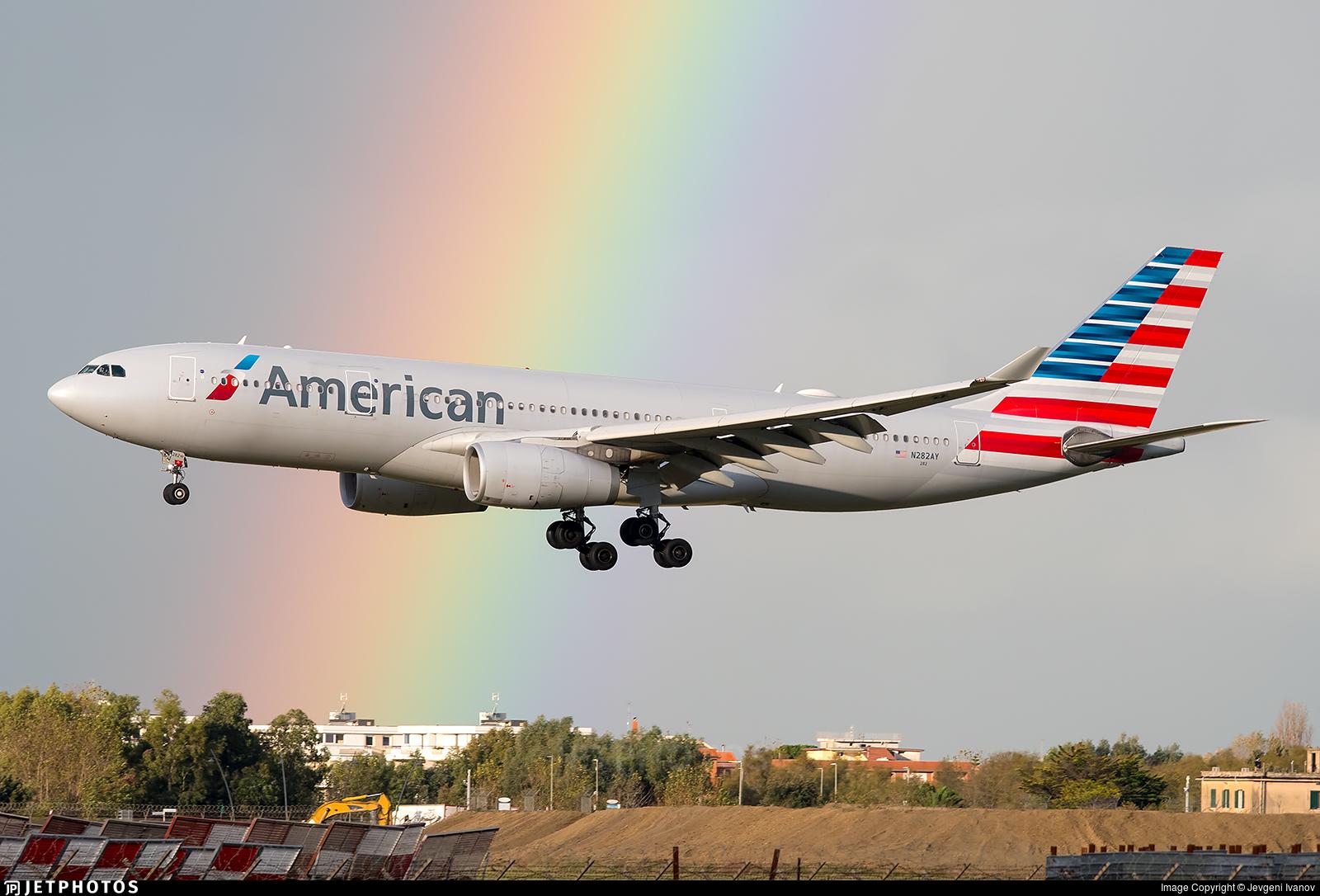 N282AY - Airbus A330-243 - American Airlines