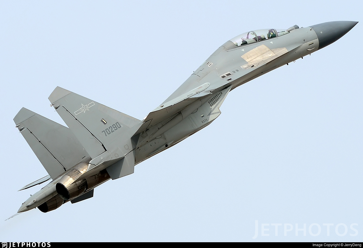 70290 - Shenyang J-16 - China - Air Force