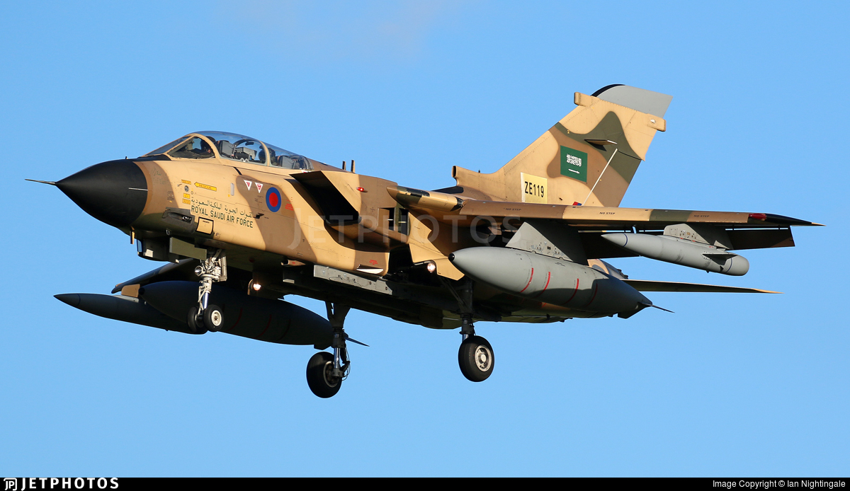 ZE119 - Panavia Tornado IDS - Saudi Arabia - Air Force