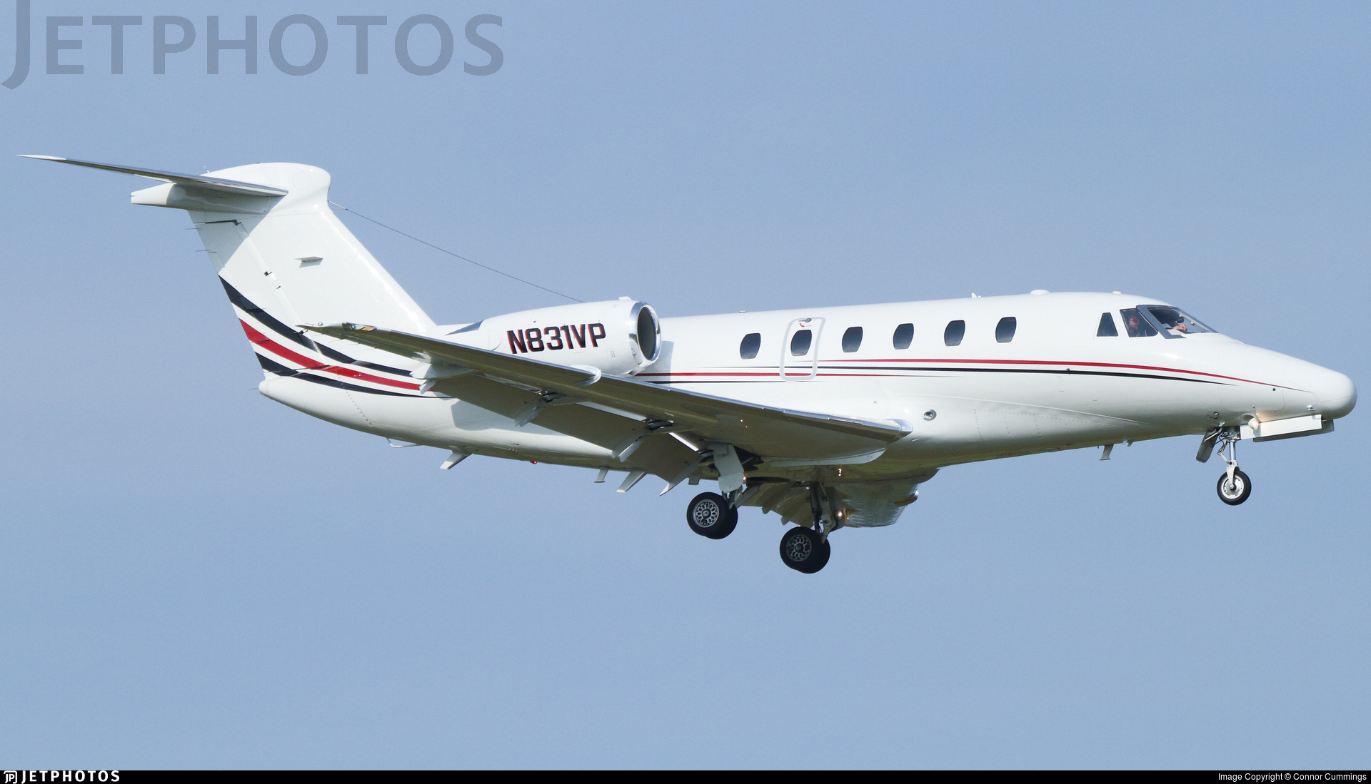 N831VP - Cessna 650 Citation III - Private