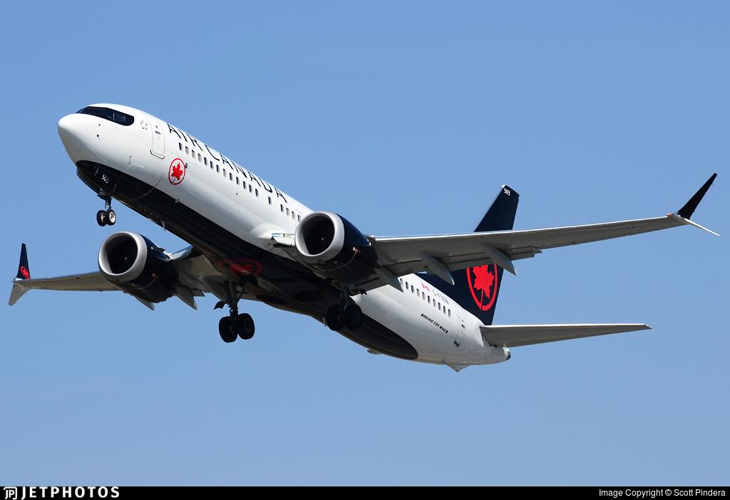 C-FSDB - Boeing 737-8 MAX - Air Canada