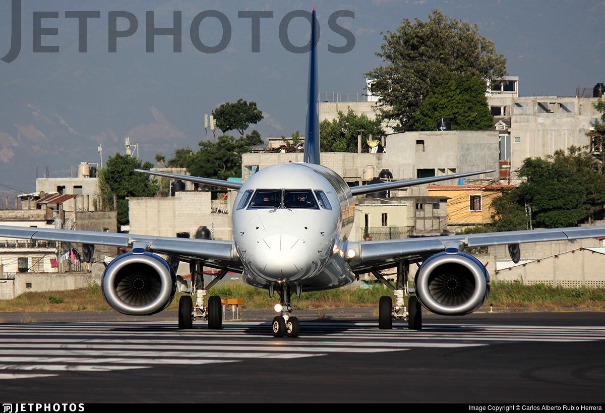 XA-ACT - Embraer 190-100LR - Aeroméxico Connect