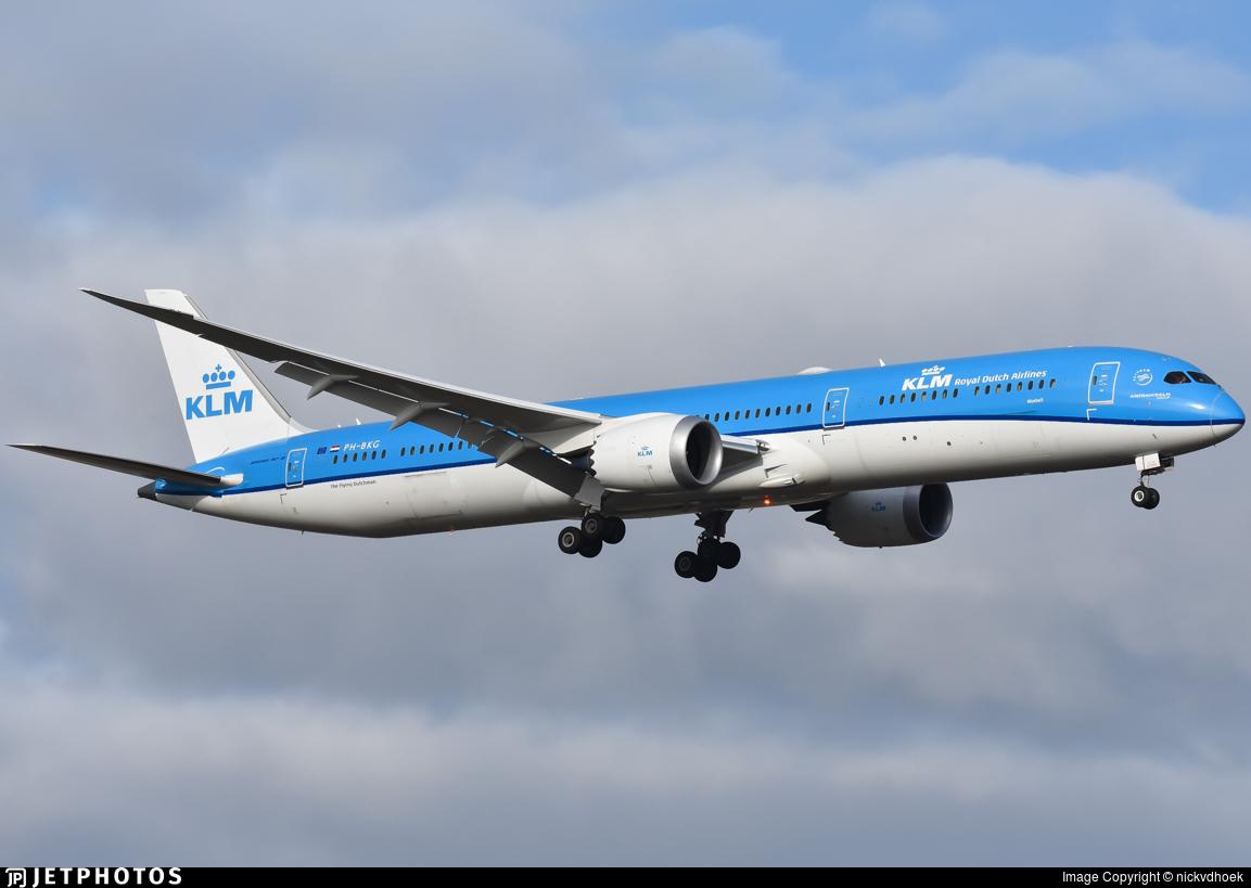 PH-BKG - Boeing 787-10 Dreamliner - KLM Royal Dutch Airlines