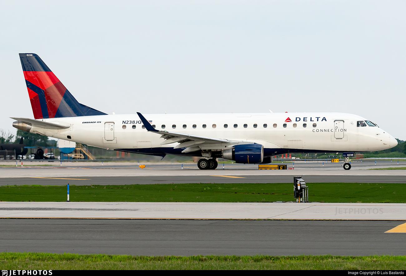 N238JQ - Embraer 170-200LR - Delta Connection (Republic Airlines)