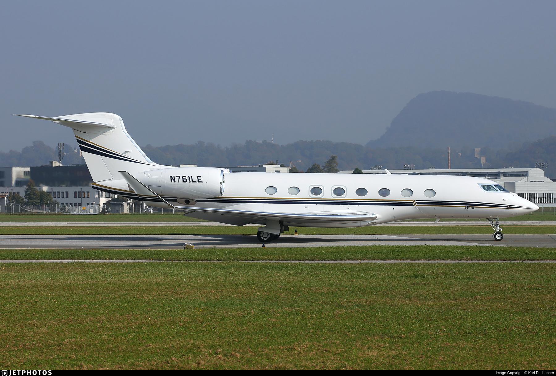 N761LE - Gulfstream G650 - Private