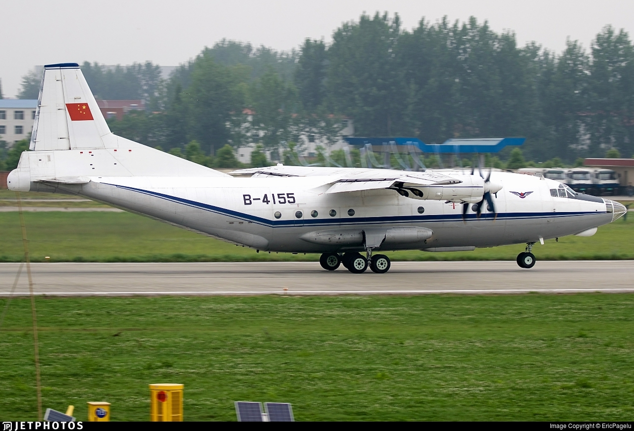 B-4155 - Shaanxi Y-8F-100 - Civil Aviation Administration of China (CAAC)