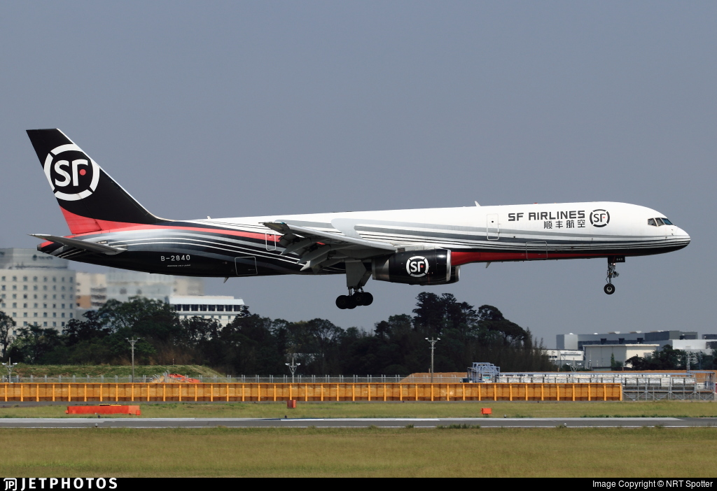 B-2840 - Boeing 757-2Z0(PCF) - SF Airlines