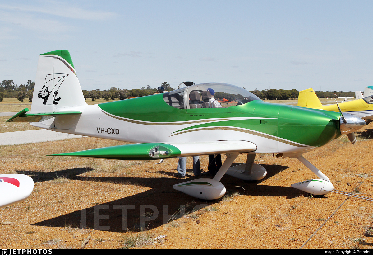 VH-CXD - Vans RV-7A - Private